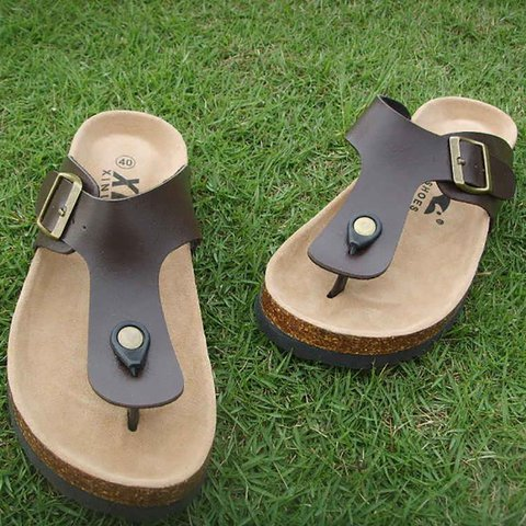 Summer Unisex Flat Heel Casual Slippers Sandals