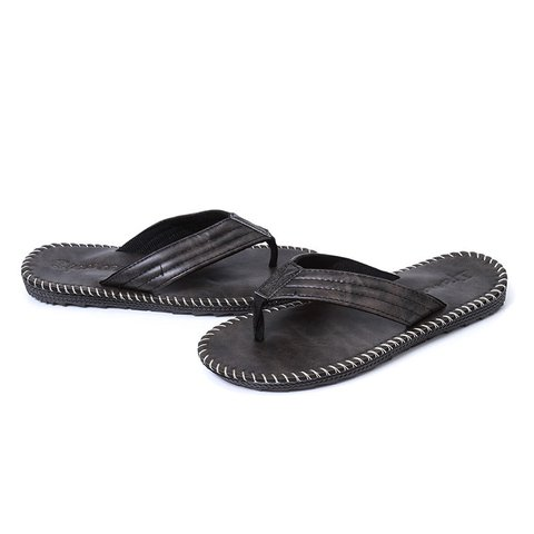 Casual Artificial Leather Summer Slippers