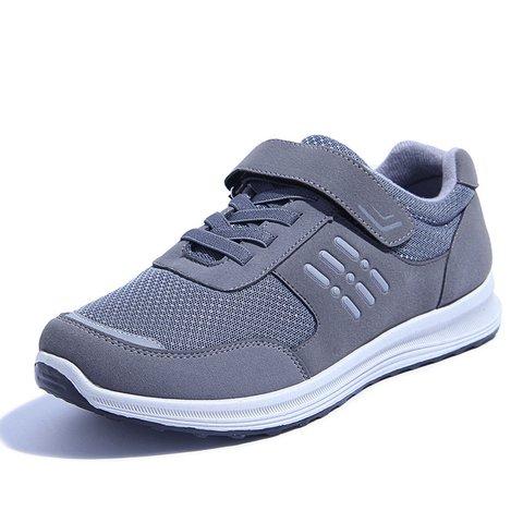 Flat Heel Mesh Sport Magic Tape Shoes