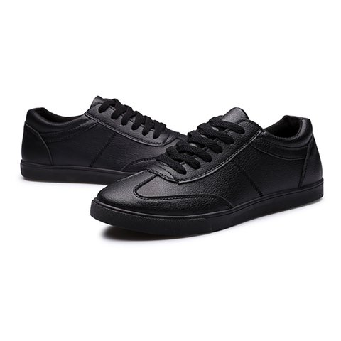 Lace-up Flat Heel Casual Shoes