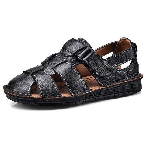 Men Hook Loop Non-slip Beach Sandals