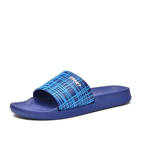 Seaside Flat Heel Casual Plastic Slippers