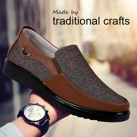 Old Peking Comfortable Flat Heel Casual Shoes