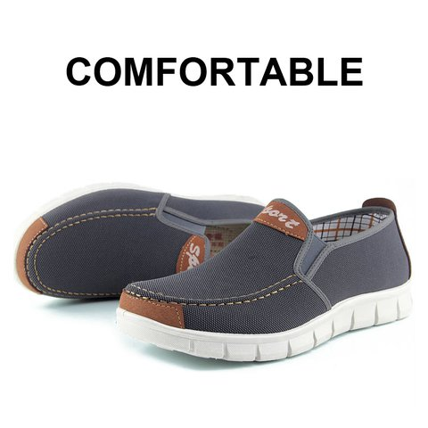 Flat Heel Canvas Casual Shoes