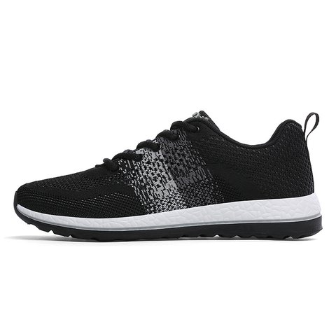 Color Block Flat Heel Lace-up Sneakers