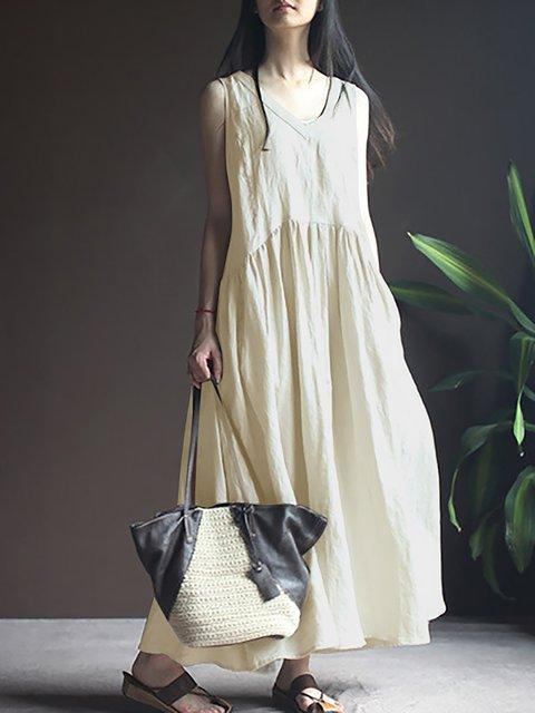 Swing Women Daytime Short Sleeve Paneled Striped Casual Dress