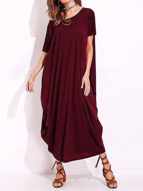 One Shoulder  Swing Women Going out Sleeveless Paneled  Summer Dress