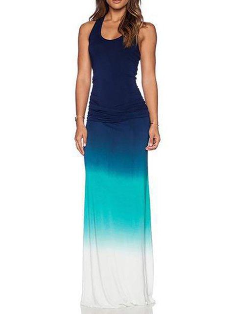 Blue Shift Women Daily Sleeveless Paneled  Summer Dress