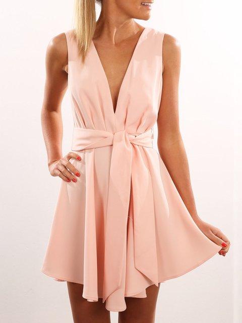 Off The Shoulder Swing Dress