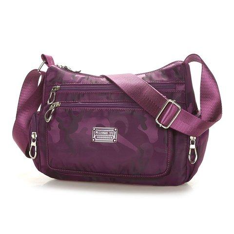 Women Zipper Oxford Crossbody Bags
