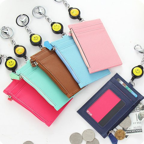 CardKey Holder Wallet Purse Casual Zipper Bag