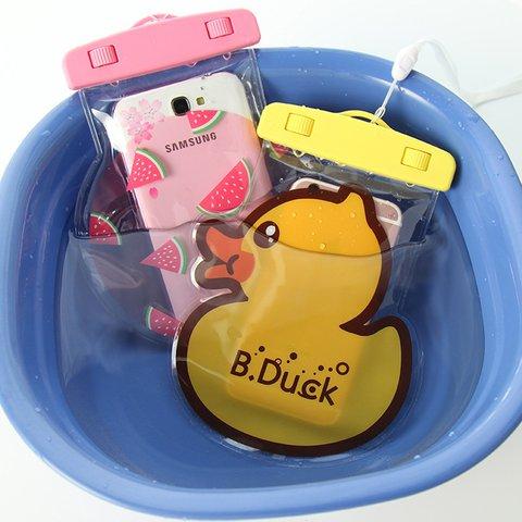 Cute Cartoon Waterproof Phone Bag Style with Casual