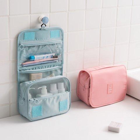 Large Capacity Waterproof Wash Hang Bag Outdoor Cosmetic Travel Storage Bag