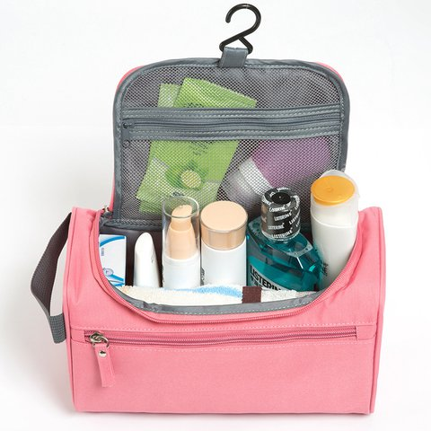 Multi-functional Waterproof Wash Hang Bag Outdoor Cosmetic Travel Storage Bag