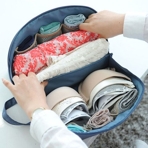 Portable Underwear Bra Storage Bag Storage Box For Women