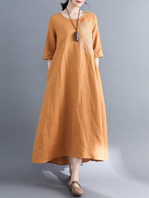 Sheath Women Date Long Sleeve Paneled Floral Casual Dress