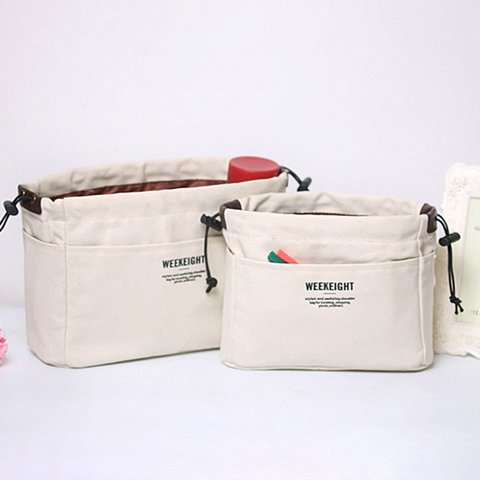 Multi-function Two Sizes Canvas Casual Drawstring Travel Storage Bags