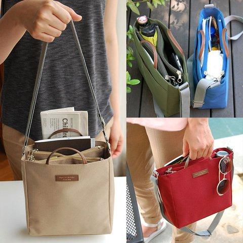 Multi-function Zipper Casual Travel Storage Bags Crossbody