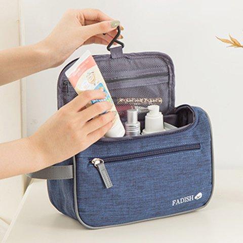 RONG.SHI.DAI  Large Capacity Zipper Oxford Travel Wash Storage Bags