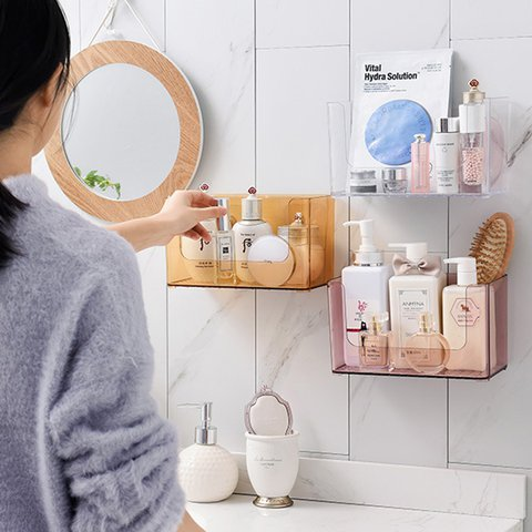 Multi-function PP Transparent Open-top Casual Storage Box