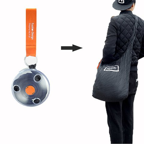 Honana HN-B16 Fashion Roll Up Portable Shopping Storage Bag Folding Organizer Reusable Bags
