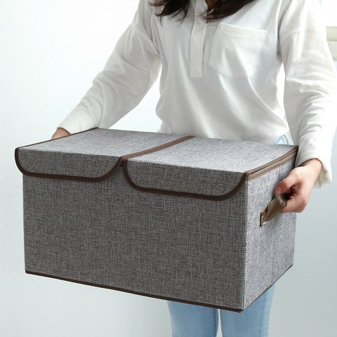 Large Capacity Linen Simple Storage Bags