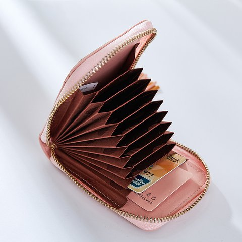 Womens Tassel PU Zipper Casual Card Bags