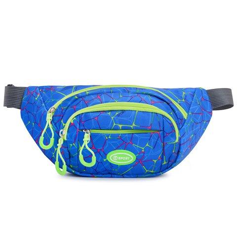Women Waist Bag Sports Outdoor Multi-function Pockets Running Waterproof Sling Bag