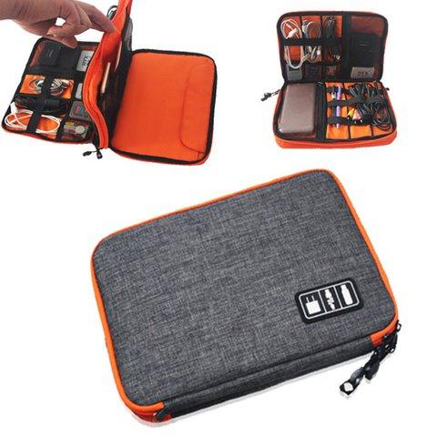 Large Capacity Casual Zipper Phone Accessories Bags