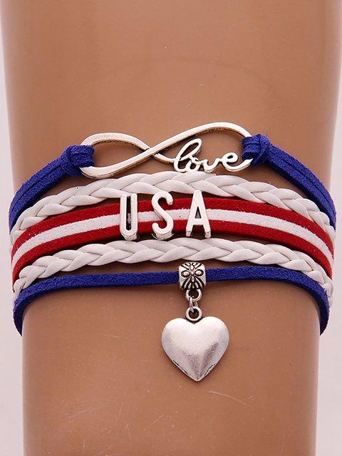 America Handmade Alloy Bracelet