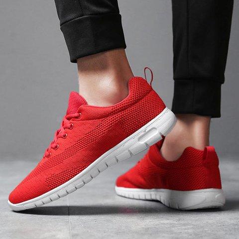 Women Mesh Fabric Sneakers Casual Super Plus Size Shoes