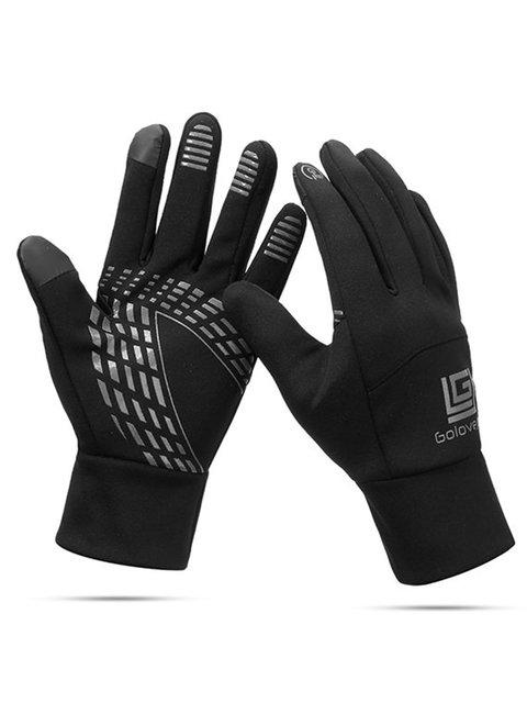 Men Women Warm Waterproof Windproof Touch Screen Ski Cycling Gloves Full Finger Outdoor Fleece Glove