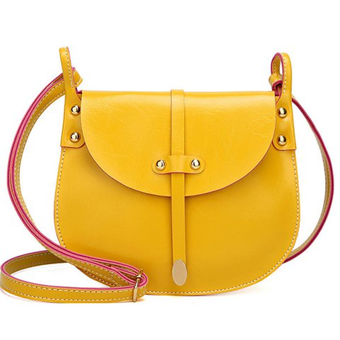 Women Pure Color 5.5inch Phone Bag Shoulder Bags Crossbody Bags