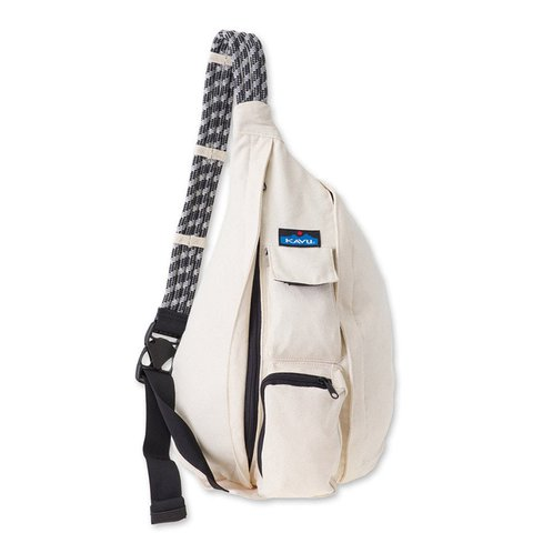 KAVU Womens Canvas Adjustable Rope Shoulder Strap Lightweight Sling Bags