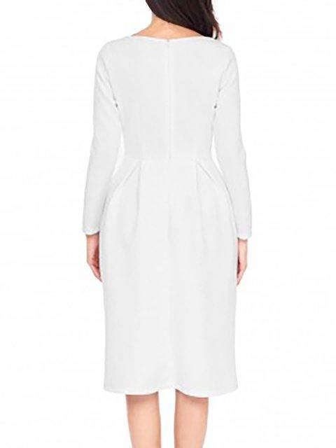 Casual Fall Dress Daily Sleeve Long Women Solid aTqAfT
