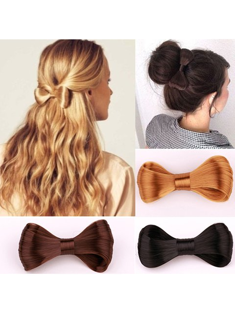 Womens bowknot Wig Hair Accessories