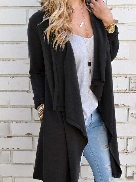 blend Long Paneled Casual Cardigan Sleeve Cotton xYOUwd8qO