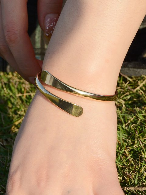 Womens Copper Round Bracelets