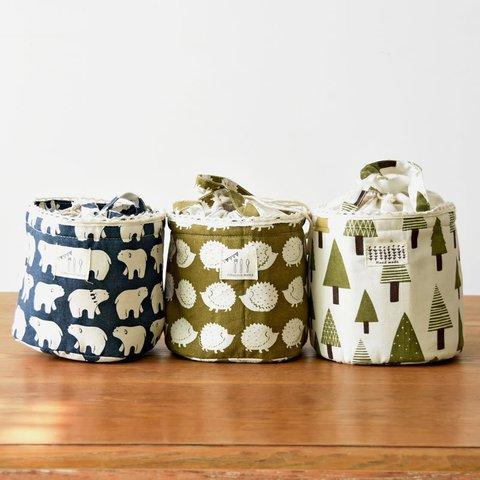 Cotton Versatile Drawstring Insulated Storage Bag