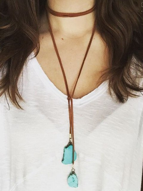 Womens Sweater Necklaces