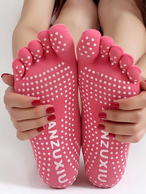 Womens Fingers Cotton Socks