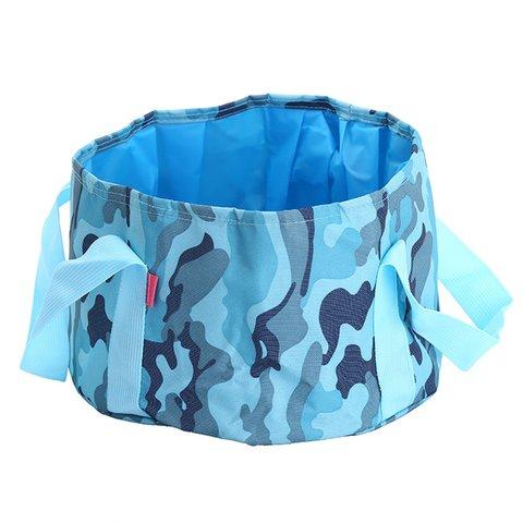 Casual Foldable Waterproof Bucket Drawstring Multifunctional Storage Bags