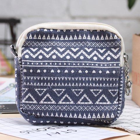 Cute Canvas Zipper Card Purse Storage Bags