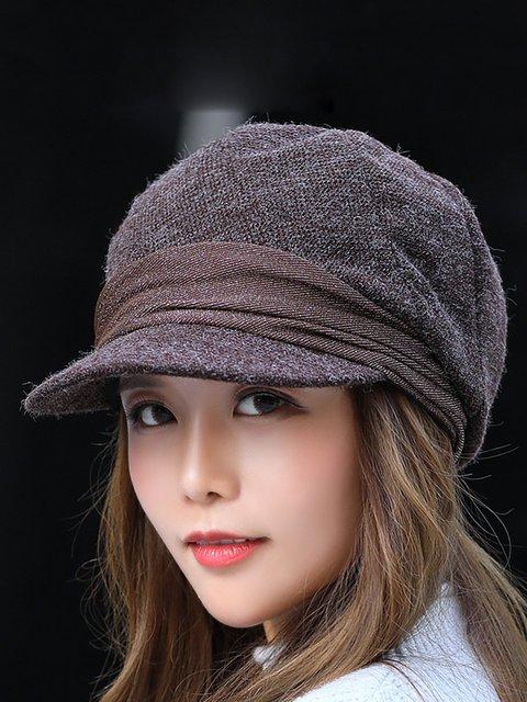 Womens Winter Beret Hats Justfashionnow Com