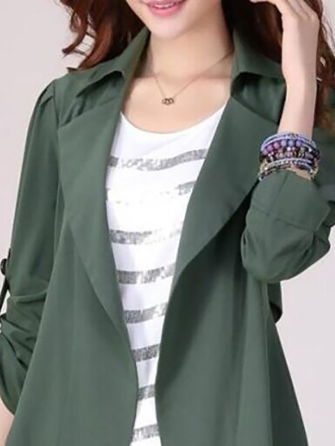 Shawl Cotton Winter Plus Elegant Size Paneled Sleeve Collar Cardigan Long RS1wqP