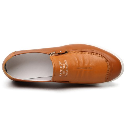 Men Side Zipper Soft Low Top Slip On Casual Shoes - JustFashionNow.com 3aac0892493