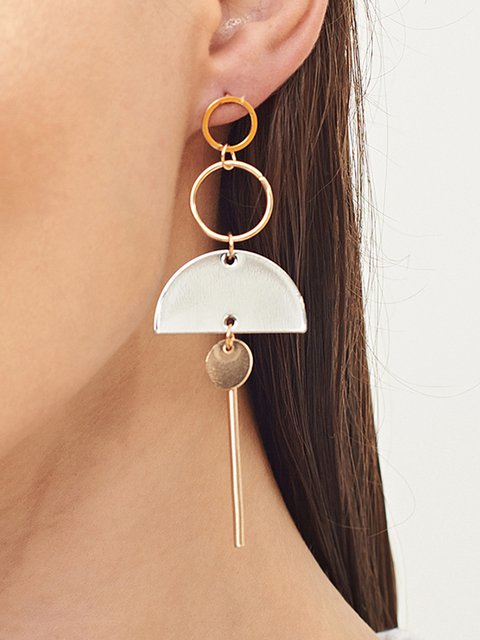 Womens Bohemia Geometric Earring
