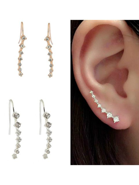 Girls Seven Diamonds Long Earrings