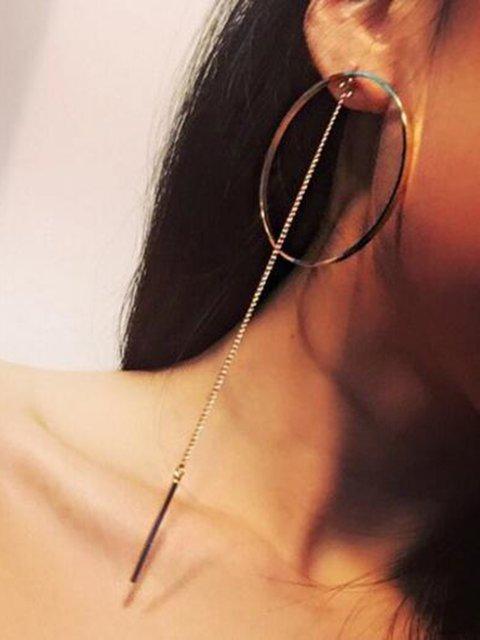 Girls Round Tassel Earrings