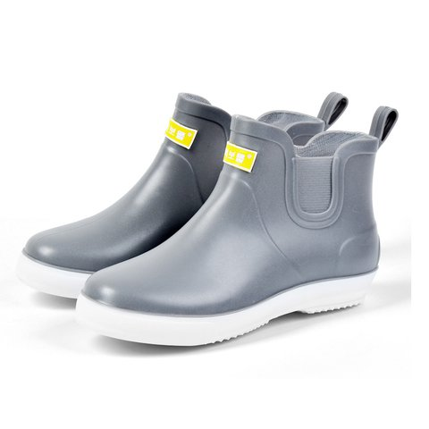 Men Hight Top Waterproof Non-slip Soft Slip On Casual Rain Boots